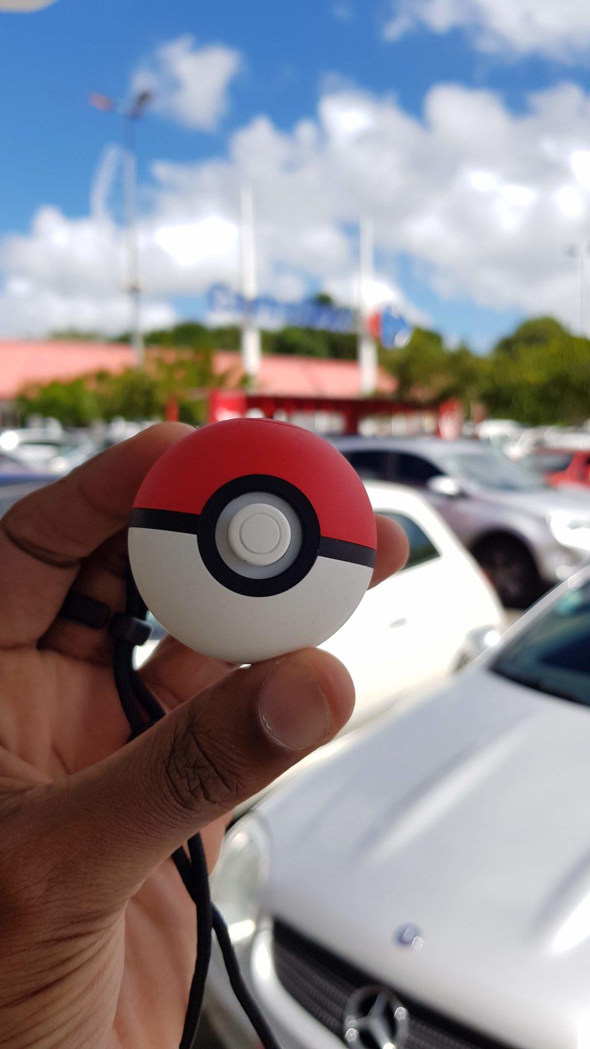 Ouais, maintenant, faire mes courses me rapporte de l'XP pour mes Pokémon :-p !