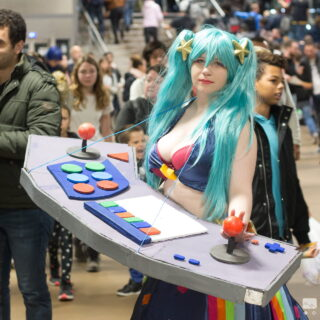 Un cosplay bien sympathique de League of Legend ^^ !