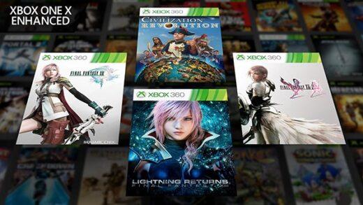 inal Fantasy XII, XIII-2et Lightning Returns seront optimisé Xbox One X