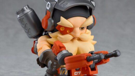La Nendoroid Torbjörn dispose de nombreux accessoires !