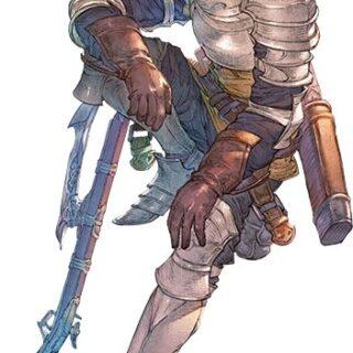 Artwork de Rackam de Granblue Fantasy Relink