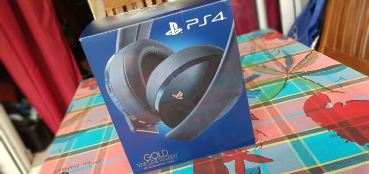 Casque Playstation GOLD sans fil