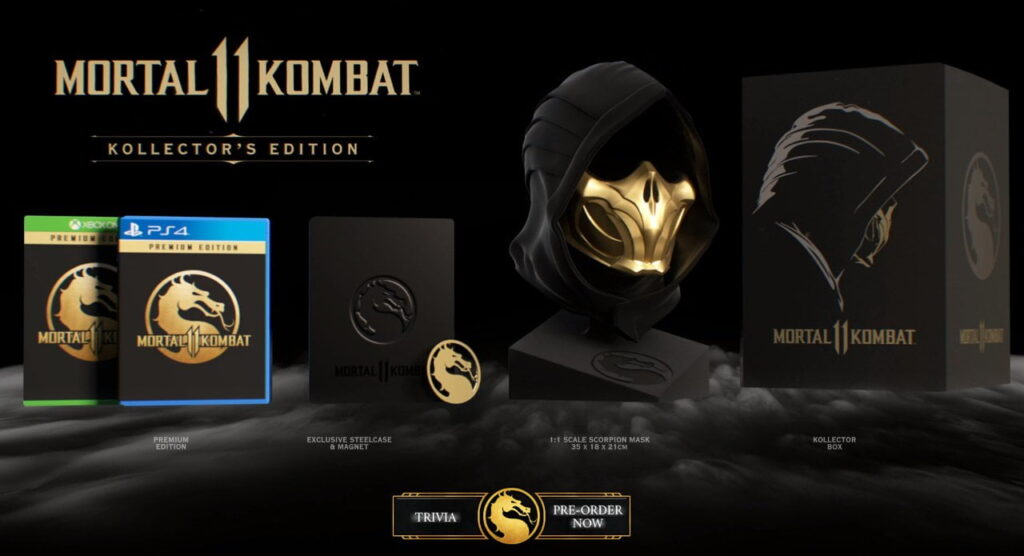 Collector Mortal Kombat 11