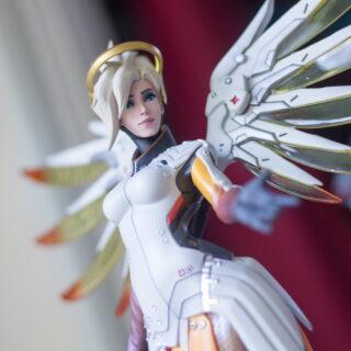 Figurine officielle Ange Overwatch (Mercy Statue)