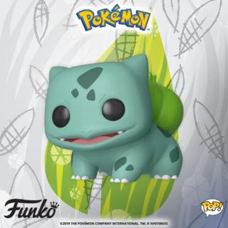 La figurine Bulbizarre débarque dans sa version Funko POP !