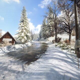 De la neige dans Dirt Rally 2.0... Mais en DLC.