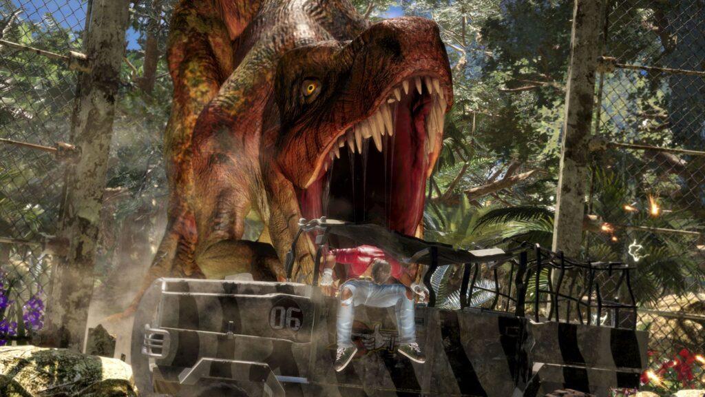 Puisque je te dis qu'on est pas dans Jurassic Park !