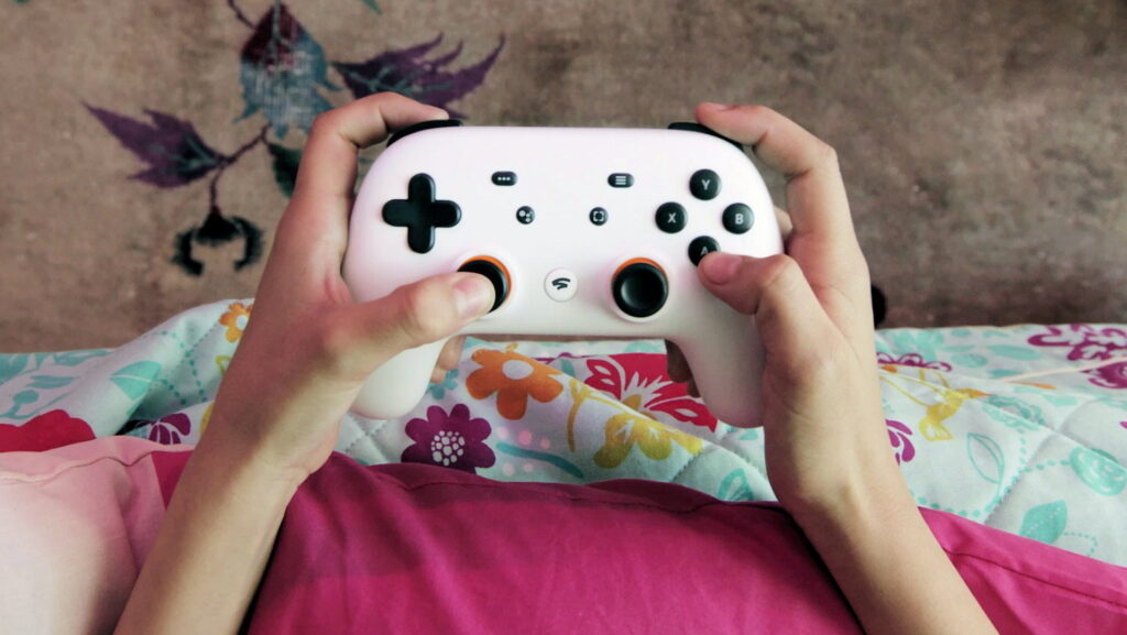 Le Stadia Controller, une des pierre angulaire du GameStreaming.