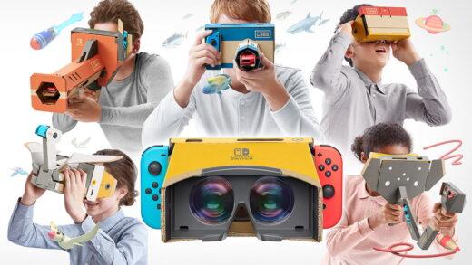 Le Nintendo Labo est de retour avec le Kit VR !