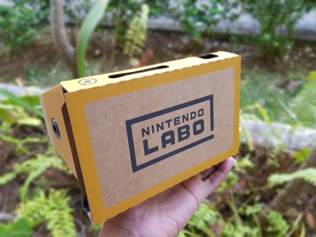 C'est bel et bien un produit Nintendo Labo.
