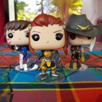Voici les figurines Funko Pop! Brigitte, Ashe et D.Va !