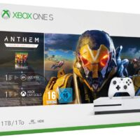 La Xbox One S 1To + 3 abonnements (EA Access, Xbox Game Pass et Xbox Live Gold) + Anthem à moins de 180€ !