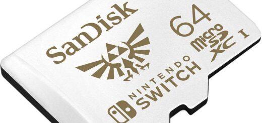 Avouez le : Cette carte Micro SD aux couleurs de Zelda est super classe !