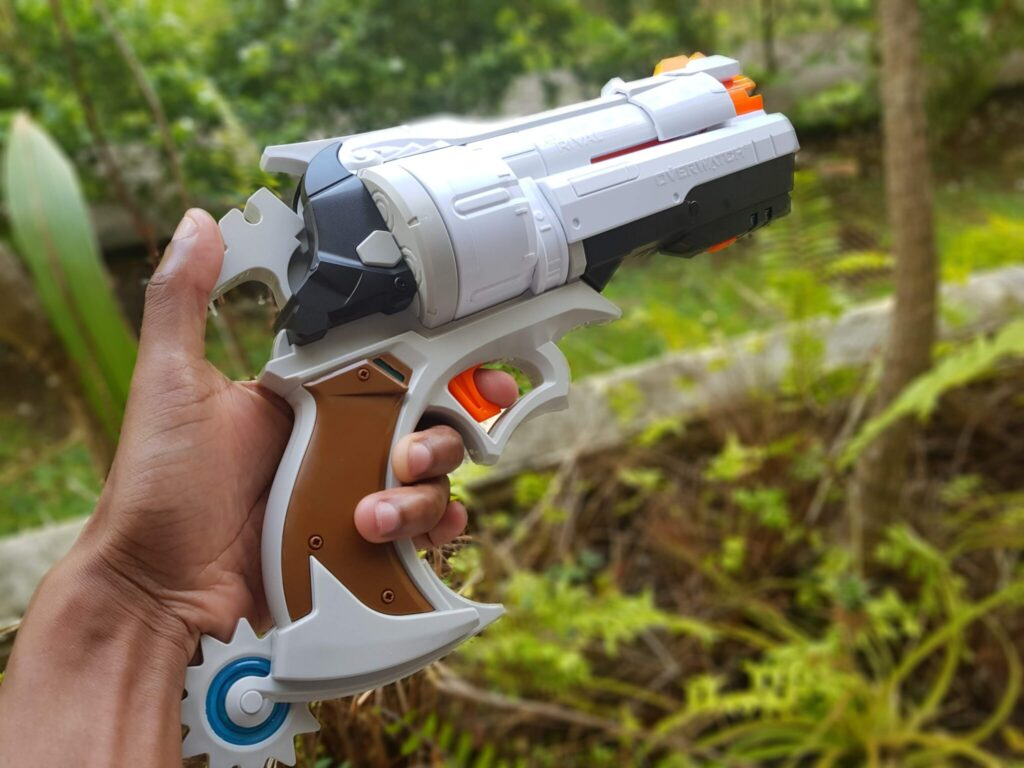 L'arme est plutôt réussie mais ne correspond à aucun skin du jeu.