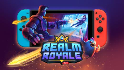 Concurrent de Fortnite, Realm Royale est disponible sur Nintendo Switch !