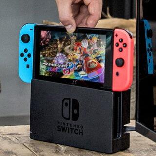 La Nintendo Switch en gris ou en néon en promotion !