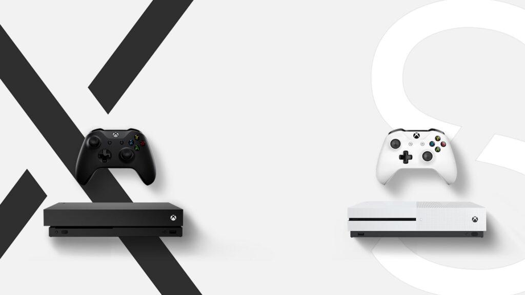 Xbox One S & Xbox One X