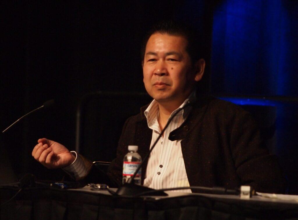 Yu Suzuki à la Game Developers Conference en 2011.