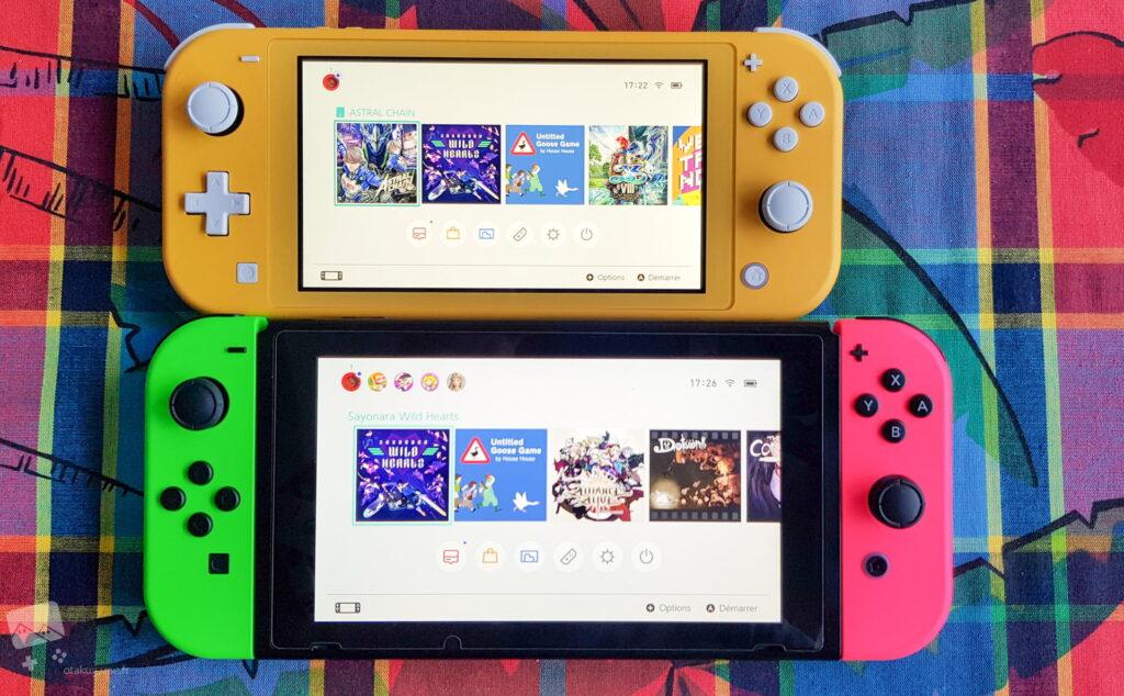 La Switch Lite est vraiment plus petite ^^ !