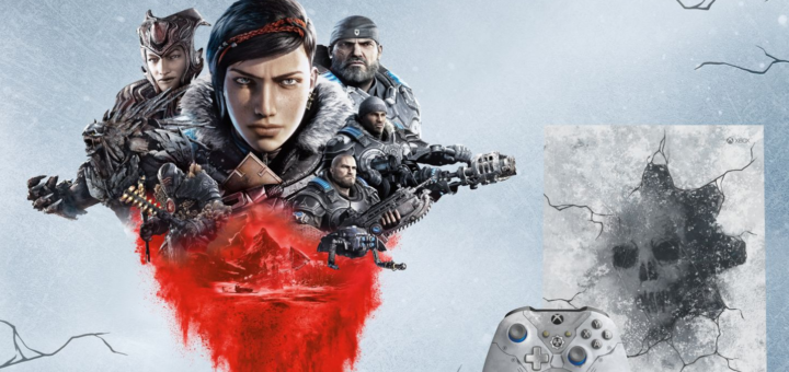 Xbox One X collector Gears 5