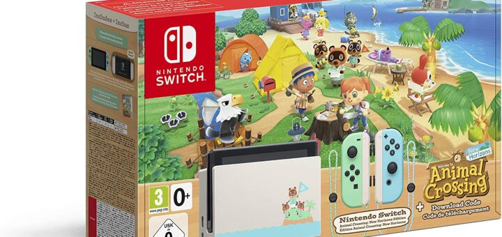 Nintendo Switch Collector Animal Crossing