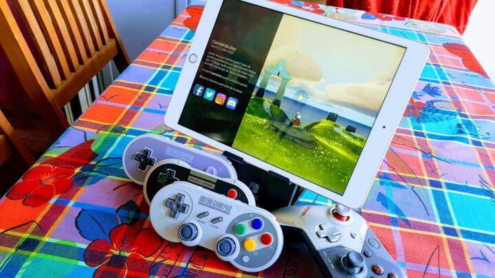 Les manettes de 8bitdo sont-elles compatible iPad ?