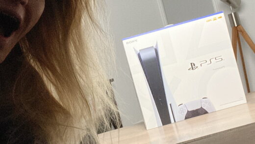 iJustine, heureuse d'avoir reçu sa PS5