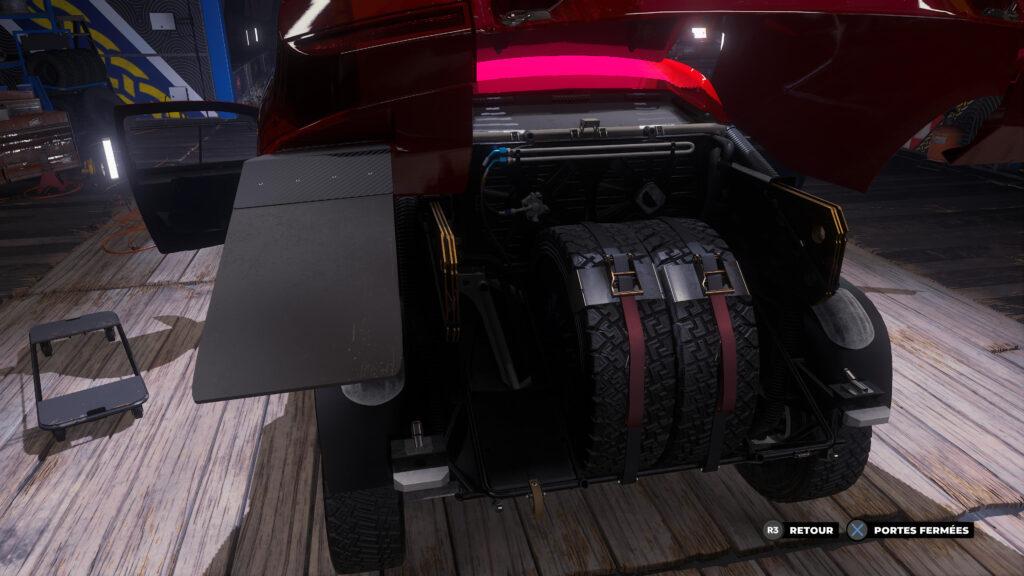 Les véhicules sont modélisés avec soins, y compris leur intérieur !