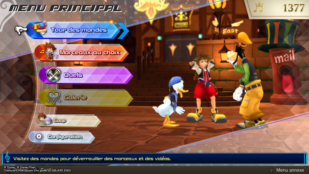 Kingdom Hearts Melody of Memories